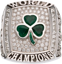 "2008 Boston Celtics NBA Championship Ring Presented to Center Glen ""Big Baby"" Davis"