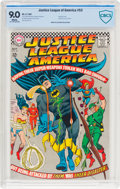 Silver Age (1956-1969):Superhero, Justice League of America #53 (DC, 1967) CBCS VF/NM 9.0 White pages....