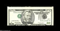 Error Notes:Inverted Third Printings, Fr. 2126-L $50 1996 Federal Reserve Note. About New....