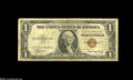Error Notes:Partial Third Printing, Fr. 2300 $1 1935A Hawaii Silver Certificate Very Good-Fine....
