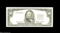 Error Notes:Third Printing on Reverse, Fr. 2122-A $50 1985 Federal Reserve Note. Gem Crisp Uncirculated....