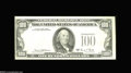 Error Notes:Third Printing on Reverse, Fr. 2166-B $100 1969C Federal Reserve Note. Extremely Fine....