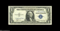 Error Notes:Mismatched Serial Numbers, Fr. 1608 $1 1935A Silver Certificate. Choice Crisp Uncirculated....