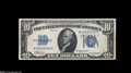 Error Notes:Mismatched Serial Numbers, Fr. 1701* $10 1934 Silver Certificate About Uncirculated....