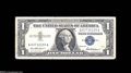 Error Notes:Mismatched Prefix Letters, Fr. 1619 $1 1957 Silver Certificates. Two Examples. Fine orBetter.... (2 notes)