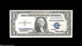 Error Notes:Doubled Third Printing, Fr. 1614 $1 1935E Silver Certificate. Fine+....