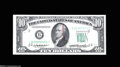 Error Notes:Doubled Third Printing, Fr. 2011-B $10 1950A Federal Reserve Note Choice CrispUncirculated....