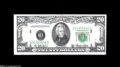 Error Notes:Doubled Third Printing, Fr. 2059-D $20 1950 Federal Reserve Note Extremely Fine....