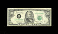 Error Notes:Doubled Third Printing, Fr. 2122-A $50 Federal Reserve Note. Very Fine....