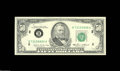Error Notes:Doubled Third Printing, Fr. 2122-B $50 1985 Federal Reserve Note. Choice CrispUncirculated....