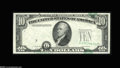 Error Notes:Shifted Third Printing, Fr. 2011-G $10 1950A Federal Reserve Note. Gem New....