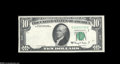 Error Notes:Foldovers, Fr. 2017-G $10 1963A Federal Reserve Note. Choice New....