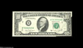 Error Notes:Foldovers, Fr. 2028-B $10 1988A Federal Reserve Note. About New....