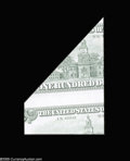 Error Notes:Foldovers, Fr. 2172-L $100 1988 Federal Reserve Note. Gem New....