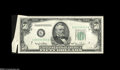 Error Notes:Attached Tabs, Fr. 2107-G $50 1950 Federal Reserve Note. About New....