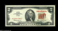 Error Notes:Ink Smears, Fr. 1513 $2 1963 Legal Tender Note. About New....