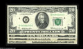 Error Notes:Obstruction Errors, Four Obstructed Printing Federal Reserve Notes.... (4 notes)