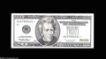 Error Notes:Obstruction Errors, Fr. 2083-A* $20 1996 Federal Reserve Note. Extremely Fine....