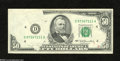 Error Notes:Obstruction Errors, Fr. 2119-D $50 1977 Federal Reserve Note. About New....
