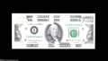 Error Notes:Missing Magnetic Ink, Fr. 2173-I $100 1990 Federal Reserve Note. Gem New....