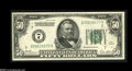 Error Notes:Miscellaneous Errors, Fr. 2100-G $50 1928 Federal Reserve Note. Extremely Fine....