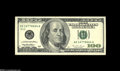 Error Notes:Miscellaneous Errors, Fr. 2175-K $100 1996 Federal Reserve Note. Very Fine....