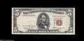 Error Notes:Major Errors, Fr. 1534 $5 1953B Legal Tender/Federal Reserve Note Very Fine....