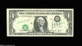 Error Notes:Major Errors, Fr. 1908-D $1 1974 Federal Reserve Note. Extremely Fine....