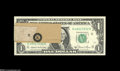 Error Notes:Major Errors, Fr. 1912-K $1 1981A Federal Reserve Note Gem Crisp Uncirculated....
