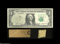 Error Notes:Major Errors, Fr. 1913-F $1 1985 Federal Reserve Note Gem Crisp Uncirculated....