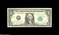 Error Notes:Major Errors, Fr. 1914-K $1 1988 Federal Reserve Note About Uncirculated....