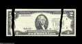 Error Notes:Major Errors, Fr. 1936-F $2 1995 Federal Reserve Note. Choice AboutUncirculated....