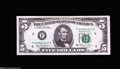 Error Notes:Major Errors, Fr. 1976-F $5 1981 Federal Reserve Note. About Uncirculated....