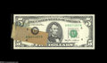 Error Notes:Major Errors, Fr. 1978-D $5 1985 Federal Reserve Note Gem Crisp Uncirculated....