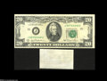 Error Notes:Major Errors, Fr. 2073-J $20 1981 Federal Reserve Note About Uncirculated....