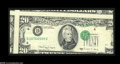 Error Notes:Major Errors, Fr. 2076-D $20 1988A Federal Reserve Note. Very Fine....