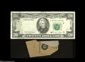 Error Notes:Major Errors, Fr. 2077-F $20 1990 Federal Reserve Note Choice CrispUncirculated....