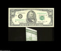Error Notes:Major Errors, Fr. 2122-D $50 1985 Federal Reserve Note Extremely Fine-AboutUncirculated....