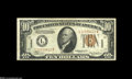 Error Notes:Major Errors, Fr. 2303 $10 1934A Hawaii Federal Reserve Note Very Fine-Extremely Fine....