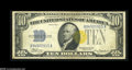Error Notes:Major Errors, Fr. 2309 $10 1934A North Africa Silver Certificate Very Fine....
