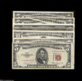 Error Notes:Error Group Lots, $38 Face Value,... (7 notes)