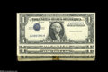Error Notes:Error Group Lots, Silver Certificate Inverted Third Overprints.... (4 notes)