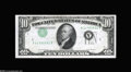 Error Notes:Error Group Lots, A Trio of Inverted Overprint $10 1950A Federal Reserve Notes.... (3notes)