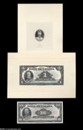 Canadian Currency: , English Issue of 1935 Proofs Choice Crisp Uncirculated.... (22 items)