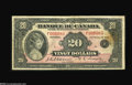 Canadian Currency: , BC-10 $20 1935...