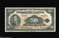 Canadian Currency: , BC-14 $50 1935...