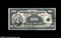 Canadian Currency: , BC-20 $1000 1935...