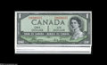 "Canadian Currency: , Matching Serial Number 35 1954 ""Devil's Face"" Portrait Set.... (7notes)"