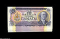 Canadian Currency: , BC-49a, BC-49c $10 1971 Solid Serial Number Set.... (9 notes)