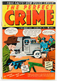 Perfect Crime #1 (Cross Publications, 1949) Condition: VG